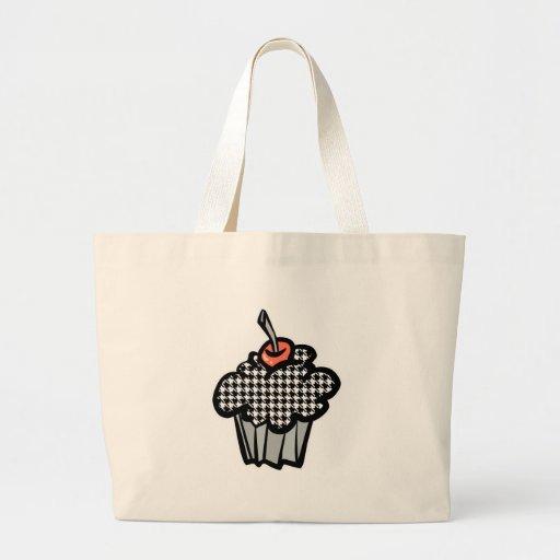 houndstooth cupcake bag