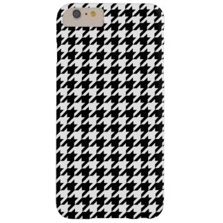 Houndstooth - Customize Background Color Barely There iPhone 6 Plus Case