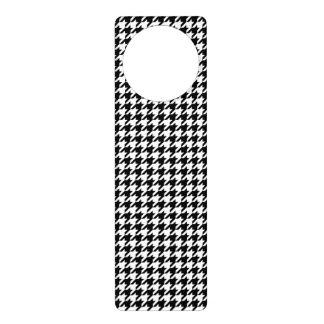 Houndstooth - Customize Background Color Door Hangers