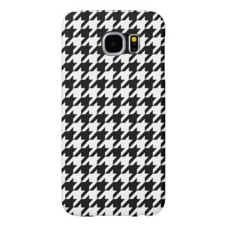 Houndstooth - Customize Background Color Samsung Galaxy S6 Cases