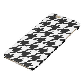 Houndstooth iPhone 6/6s Plus Glossy Finish Case
