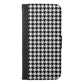 Houndstooth iPhone 6/6s Plus Wallet Case