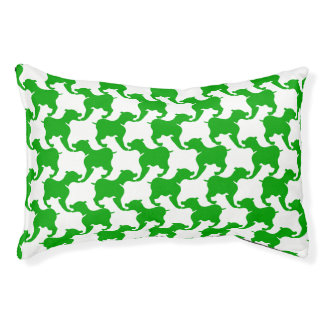 Houndstooth Tesselation Dog Small  Bed