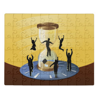 Hourglass Business Jigsaw Puzzle