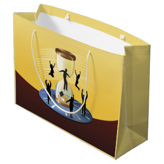 Hourglass Business Large Gift Bag
