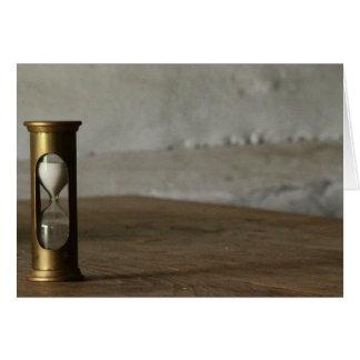 Hourglass Card