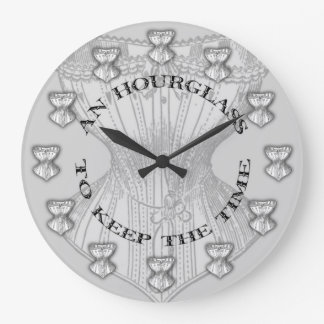 Hourglass Corset Large Clock