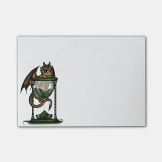 Hourglass Dragon Post-it Notes