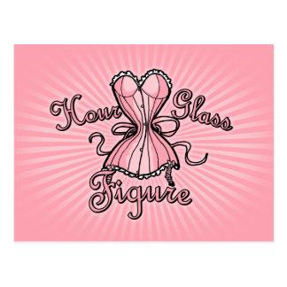 Hourglass Figure Postcard