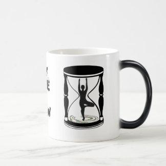 Hourglass - Inspirational Yoga Gifts Magic Mug