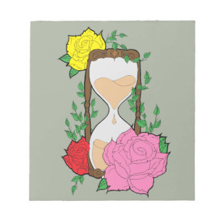 Hourglass Notepad