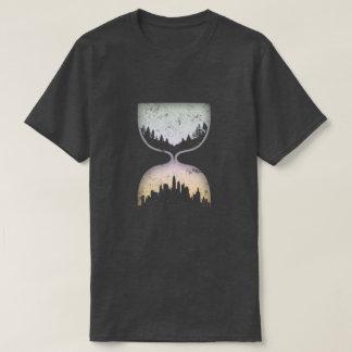 Hourglass of civilization T-Shirt