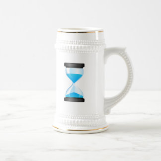 Hourglass Sand Timer Beer Stein