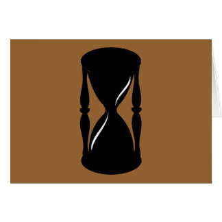 Hourglass - Sands of Time Card