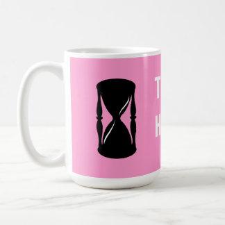 Hourglass - Sands of Time Coffee Mug