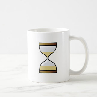 Hourly glass of hourglass egg timer hourglass coffee mug