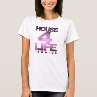 House 4 Life Records Ladies Fitted Babydoll Tee-Ho T-Shirt