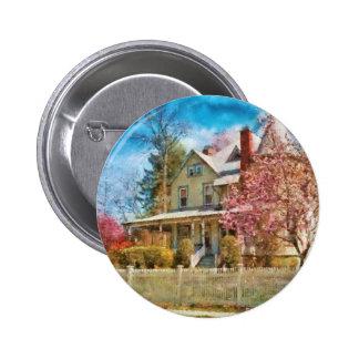 House - A Victorian Springtime Button
