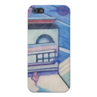 House Abstract CricketDiane Art & Design Cover For iPhone 5