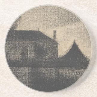 House at Dusk (La Cité) Coaster