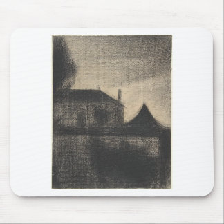 House at Dusk (La Cité) Mouse Pad