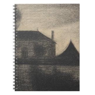 House at Dusk (La Cité) Notebook