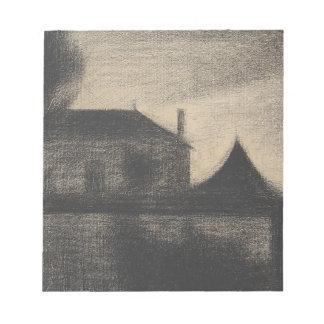 House at Dusk (La Cité) Notepad