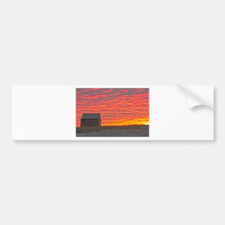 House at Sunset - 2 Bumper Sticker
