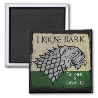 House Bark - Dinner is Coming Magnet