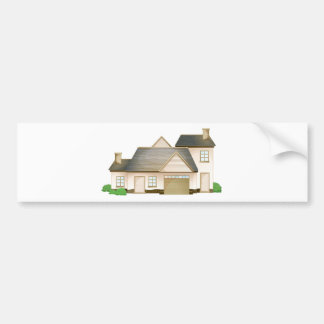 house car bumper sticker