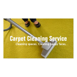 House Carpet Rugs Cleaning Housekeeper Maid Business Card Templates
