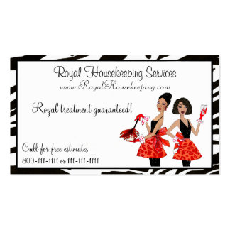 House Cleaning Diva Business Cards