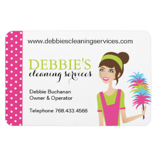 House Cleaning Marketing Magnets
