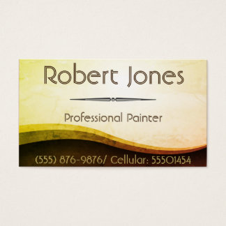 House, Commercial, And Industrial Painting Business Card