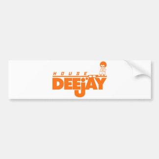 House Deejay Bumper Sticker