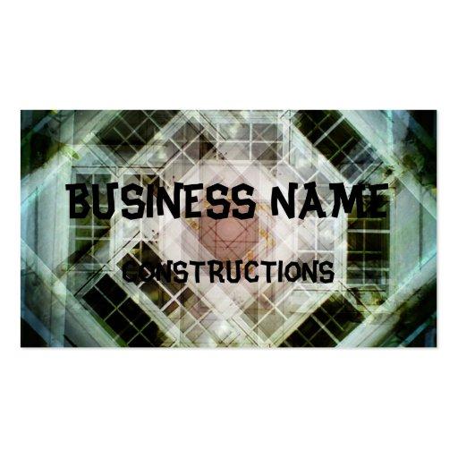 house door business card templates