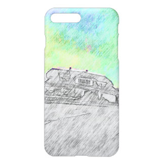 House drawing iPhone 7 plus case