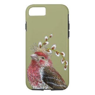 House finch iPhone 7, Tough Phone Case