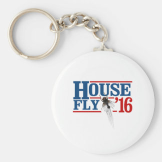 HOUSE FLY 2016 -- Presidential Election 2016 - Key Ring