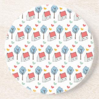 House Hearts Coasters