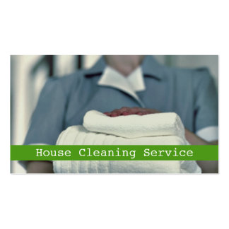 House, Home Cleaning Business Card
