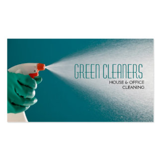 House Home Cleaning Cleaners Windows Housekeeping Business Card