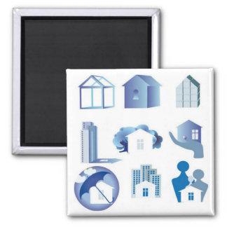 house-icon-set11 magnet