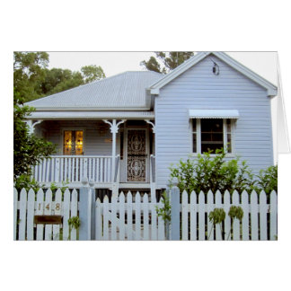 House in Australia Note / Greeting Card