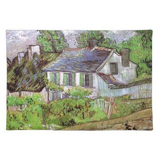 House in Auvers,Vincent van Gogh Place Mats