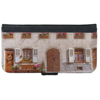 House in Gruyere village, Switzerland iPhone 6 Wallet Case