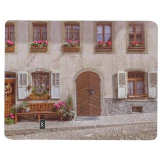 House in Gruyere village, Switzerland Journal
