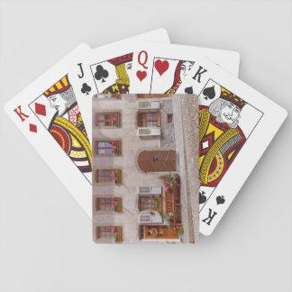 House in Gruyere village, Switzerland Playing Cards