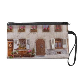 House in Gruyere village, Switzerland Wristlet
