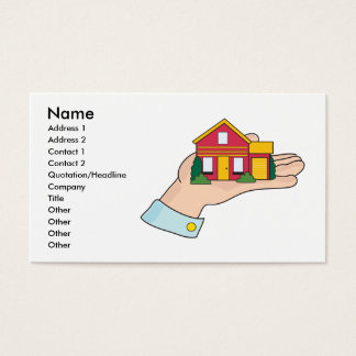 House in Hand Business Card